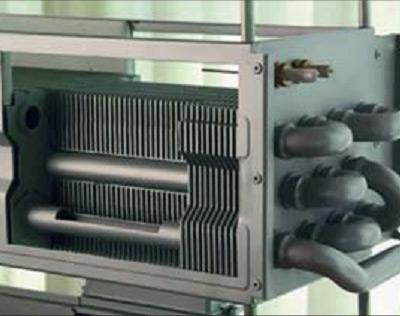 Алюминиевый теплообменник котла Ferroli