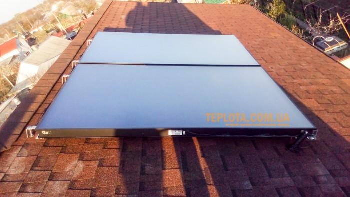 Vaillant. Монтаж системы не закипающих солнечных коллекторов Vaillant auroSTEP plus 2.250 P VTe