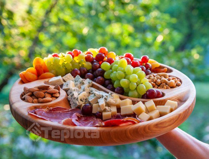Деревянная посуда Теплота